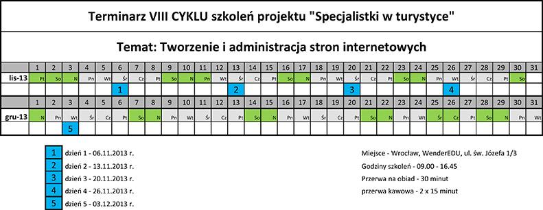 Terminarz CYKL_VIII
